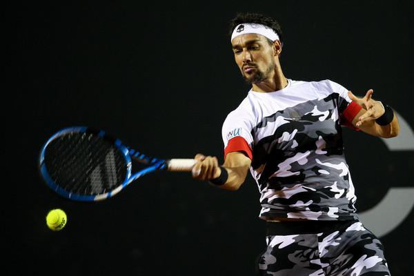 Fabio Fognini conquista il suo sesto titolo in carriera ed è il primo italiano a vincere  il torneo ATP di San Paolo (ph. Zimbio.com)