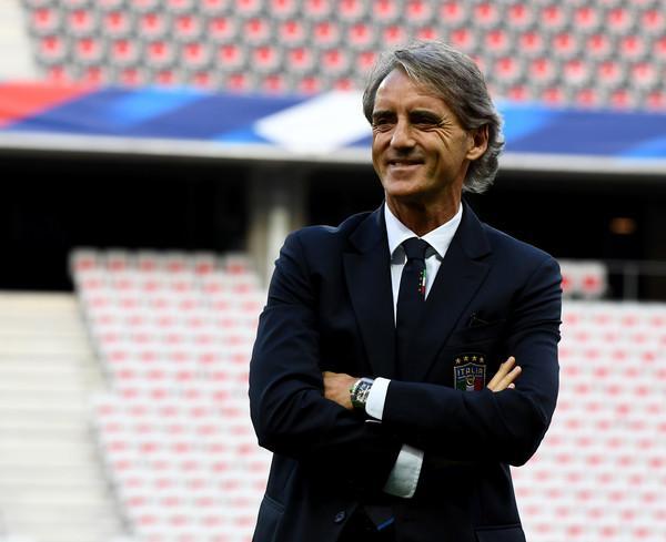 Seconda partita per Mancini: oggi sfida la Francia (ph. Zim.,