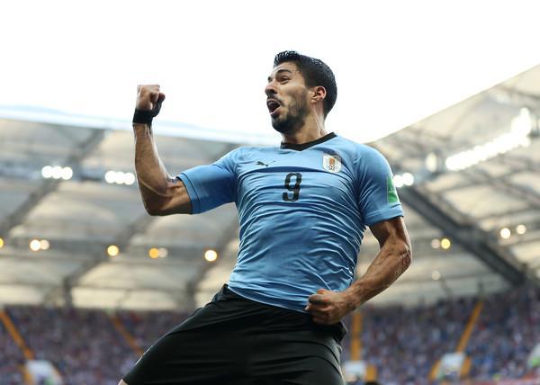 Un gol di Luis Suarez basta all'Uruguay contro l'Arabia Saudita (ph. Zimbio)
