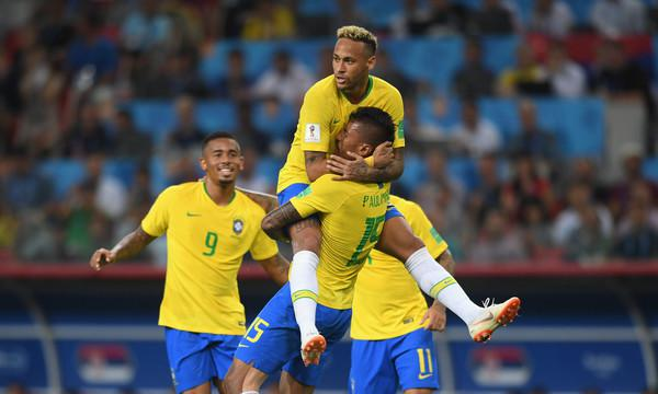 Ora i favori del pronostico sono tutti per il Brasile (ph. Zimbio)