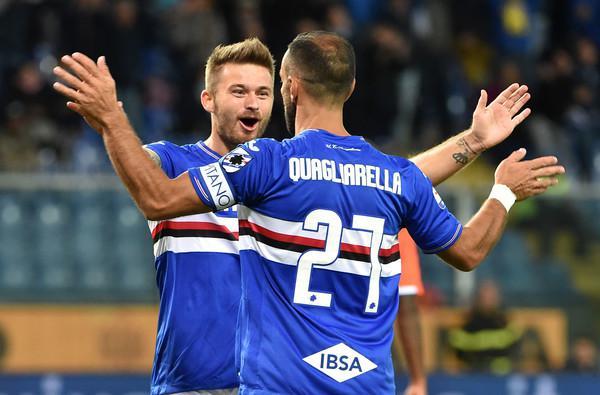 Fabio Quagliarella, Sampdoria (ph. Zimbio)