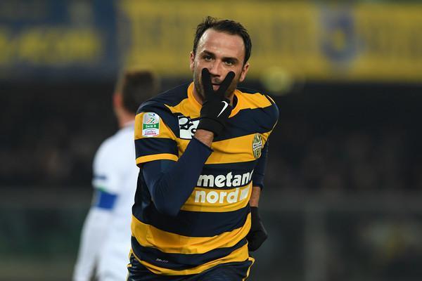Pazzini realizza una doppietta contro il Perugia (ph. zimbio)