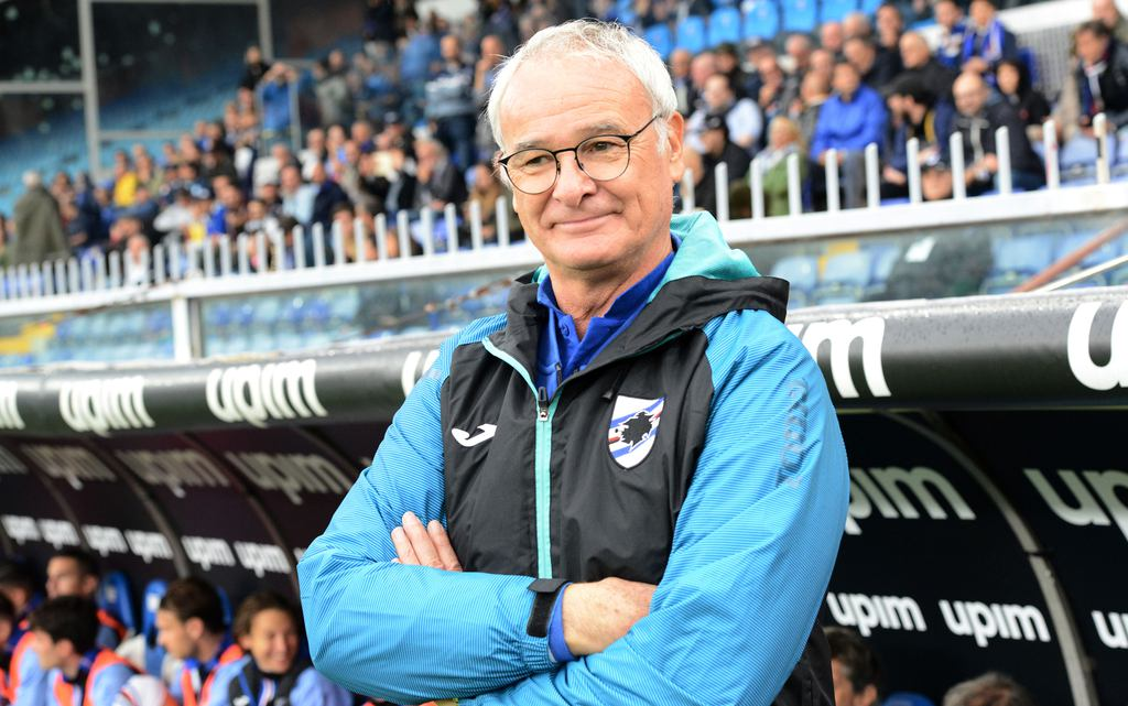Claudio Ranieri, allenatore dell'UC Sampdoria (Zimbio)