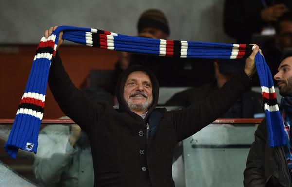 Massimo Ferrero presidente della Sampdoria (ph. zimbio)