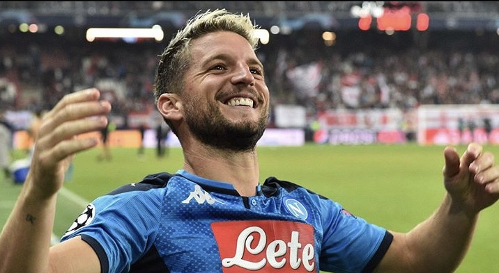 Dries Mertens, attaccante belga del Napoli (Social)