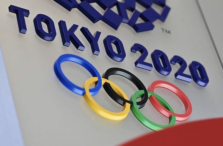 Il logo dei Giochi Olimpici di Tokyo 2020, rinviati al 2021 (Social)