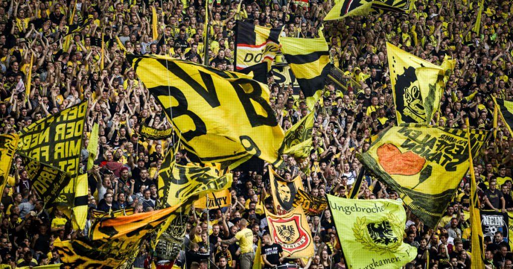 I tifosi del Borussia Dortmund