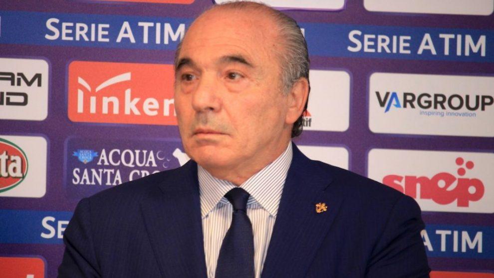 Rocco Commisso presidente della Fiorentina (ph. social)