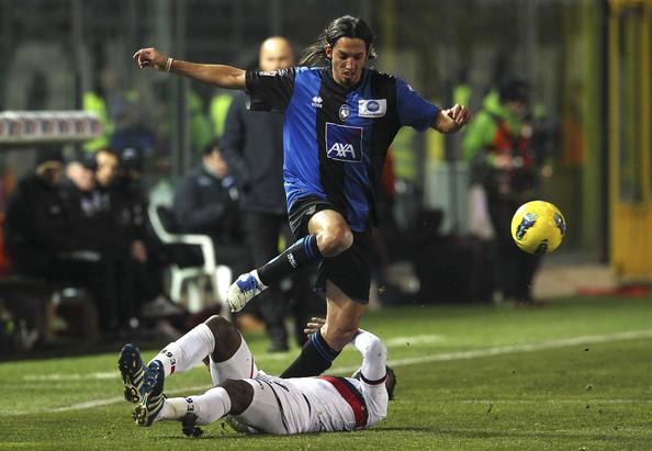 Ezequiel Schelotto, ex giocatore dell'Atalanta (ph. Zimbio)