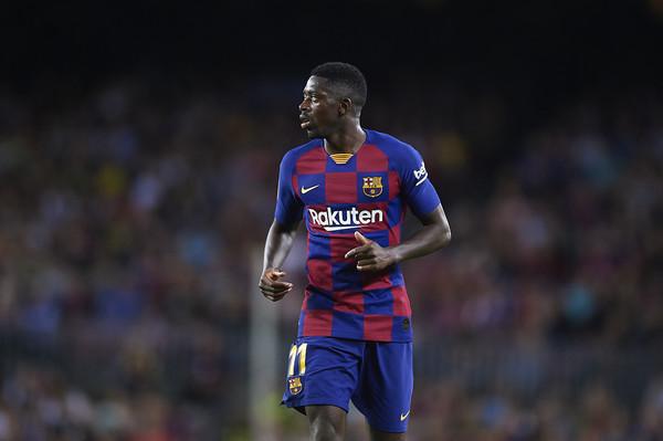 Ousmane Dembele, attaccante del Barcellona (ph. Zimbio)