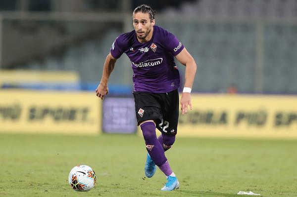 Martin Caceres con la maglia della Fiorentina (Zimbio)