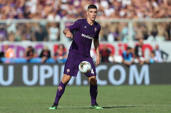 Nikola Milenkovic, difensore serbo della Fiorentina (Zimbio)