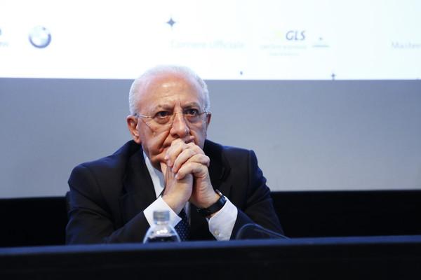 Il Presidente della Regione Campania Vincenzo De Luca (Zimbio)