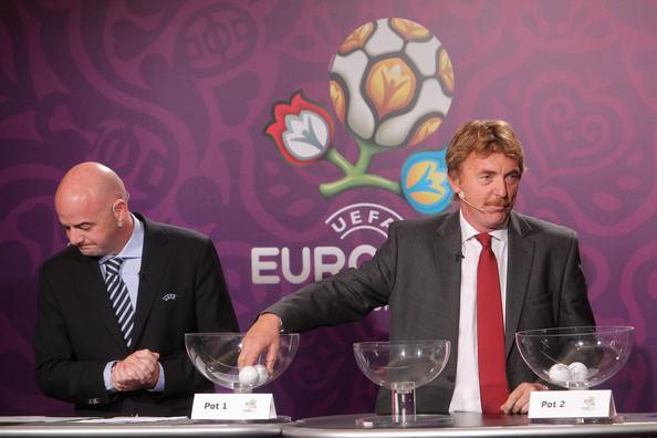 Zbigniew Boniek e il presidente della Fifa Gianni Infantino (Zimbio)