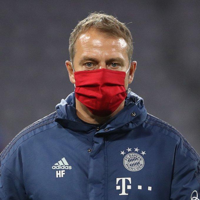 Le dichiarazioni di Hans-Dieter Flick alla vigilia di Borussia Dortmund Bayern Monaco nel corso della conferenza stampa di oggi  (Ph. Twitter)