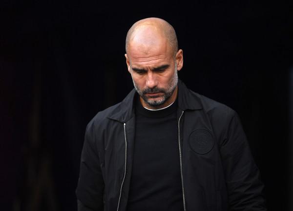 Pep Guardiola, allenatore del Manchester City (Zimbio)