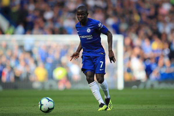 N'Golo Kanté con la maglia del Chelsea (Zimbio)
