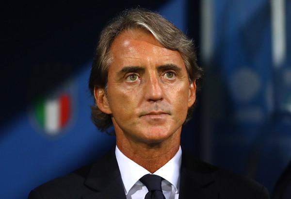 Il ct della Nazionale italiana Roberto Mancini (Zimbio)