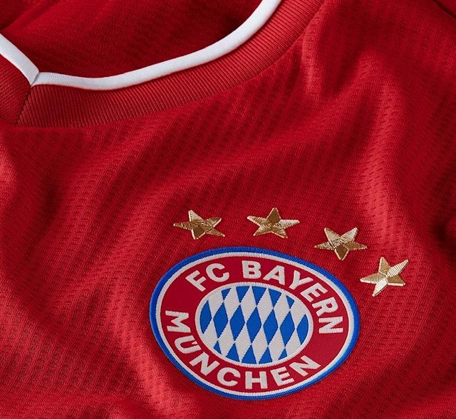 La maglia 2020/2021 del Bayern Monaco (Profilo Twitter club)