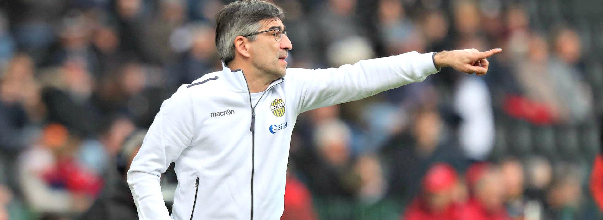 Ivan Juric, allenatore dell'Hellas Verona (Ph. Twitter)